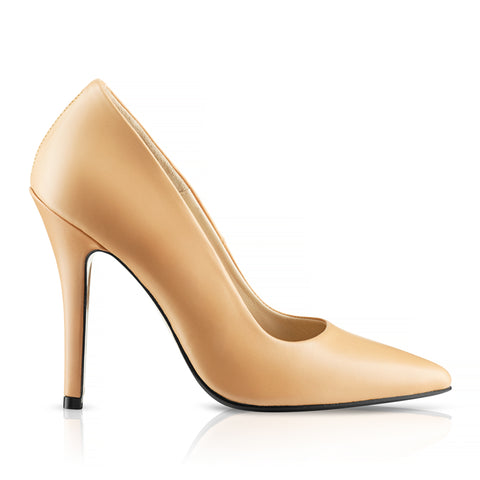 Vitea Pumps Nude Calf Leather