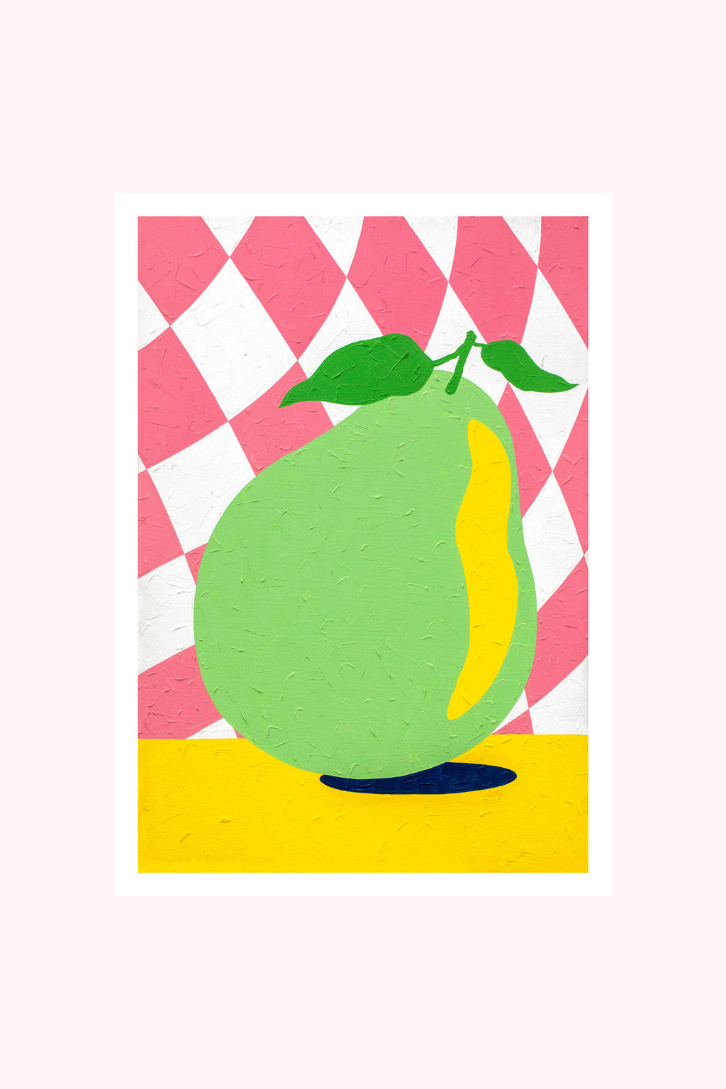 Artwork / Checked Pear