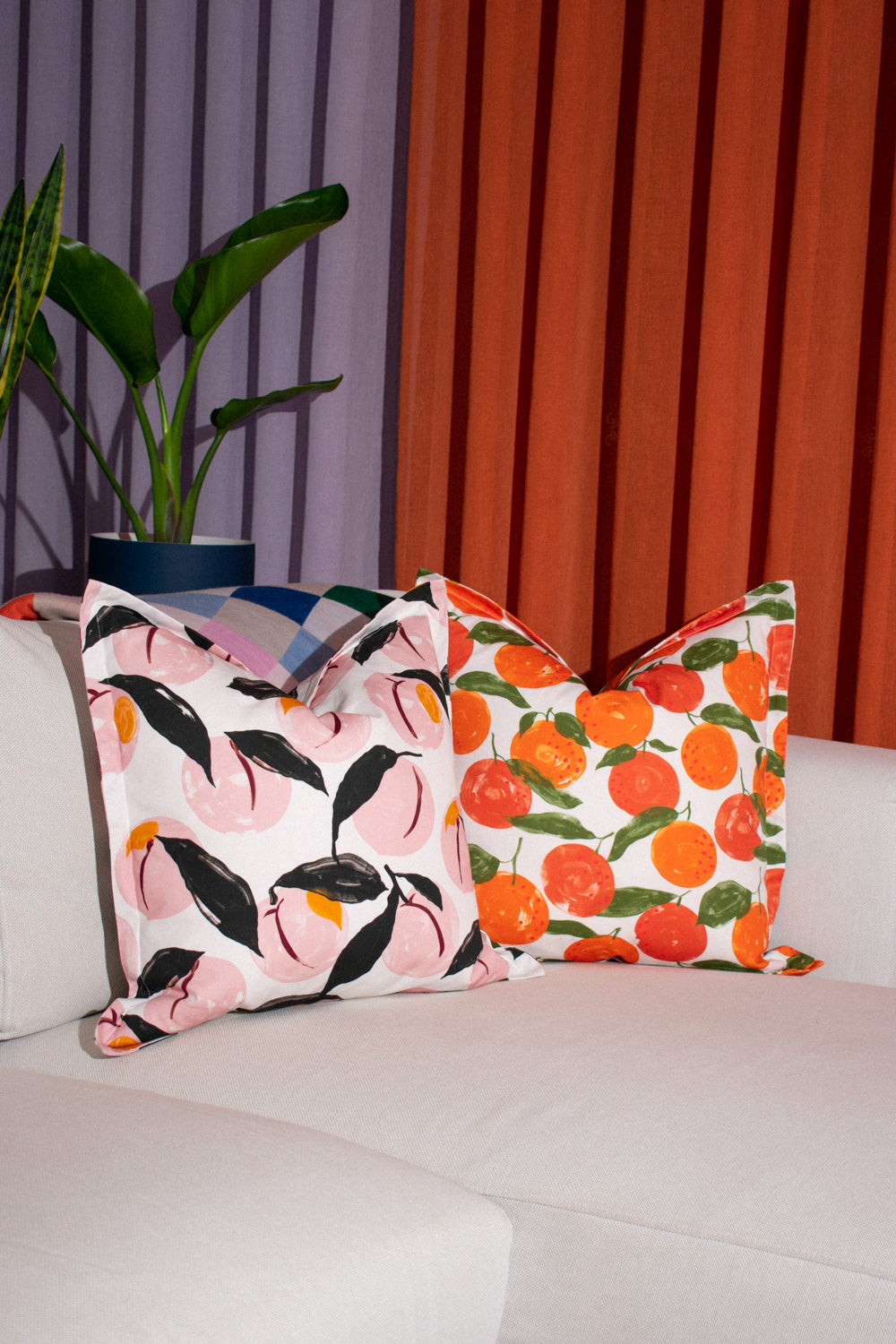 Cushion Cover / Fruits