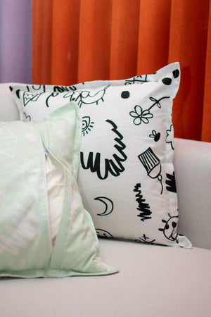 Cushion Cover / Doodles