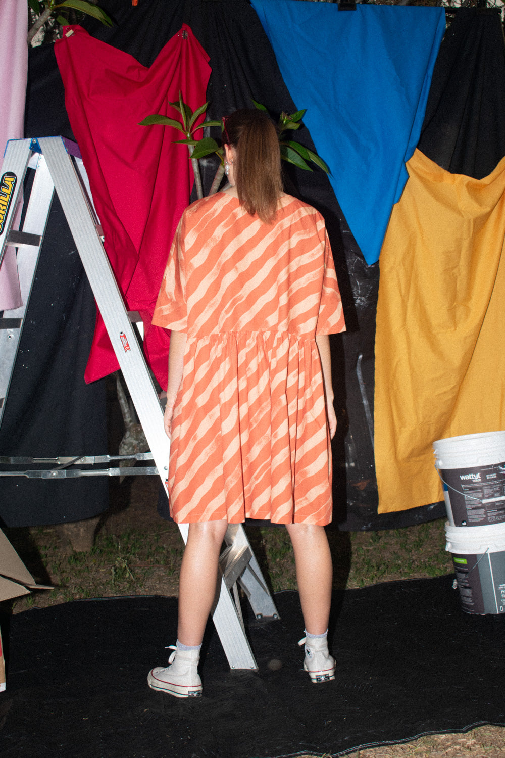 Tent Dress / Apricot Candy