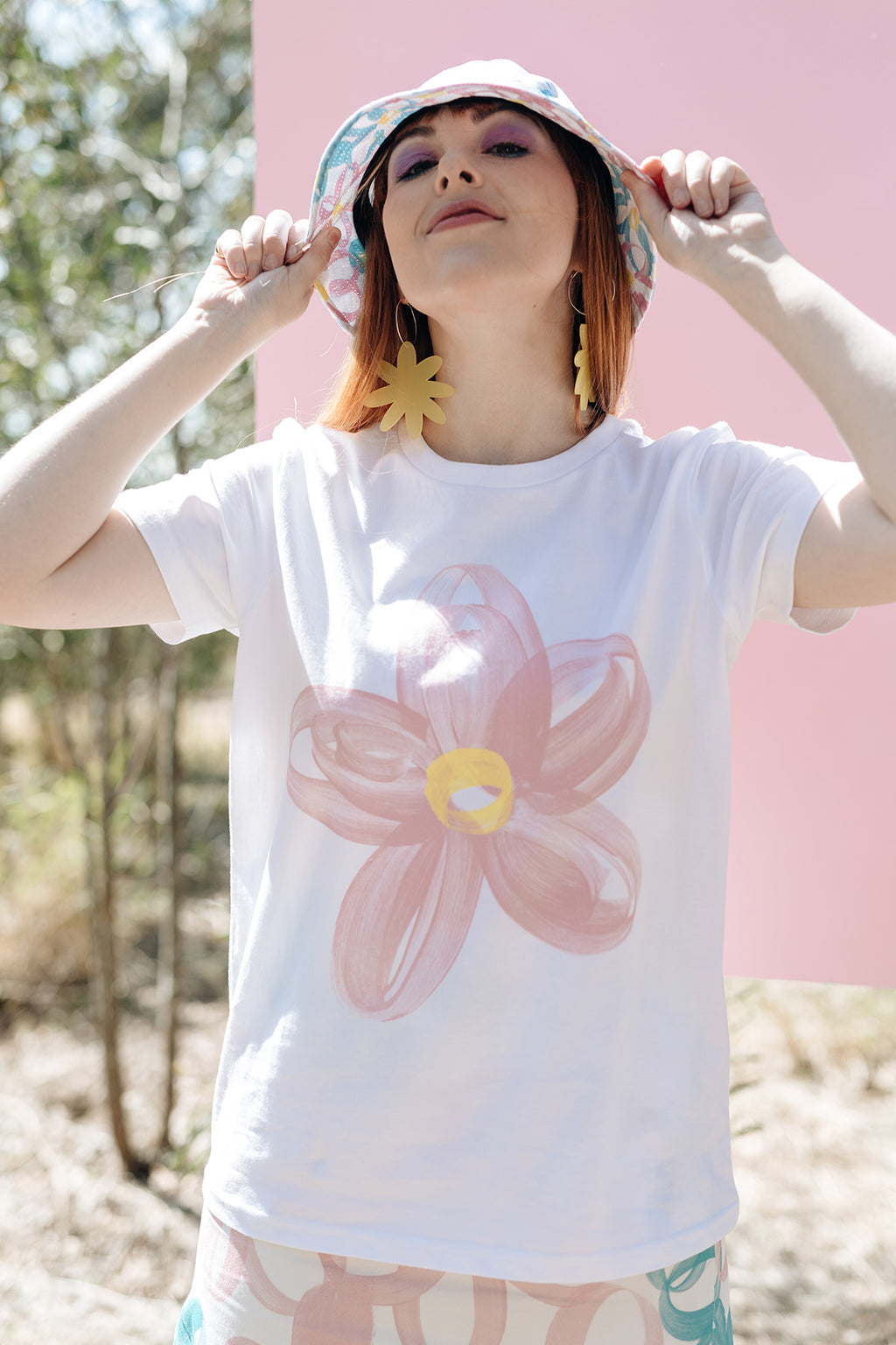 Cotton Tee / Blossom