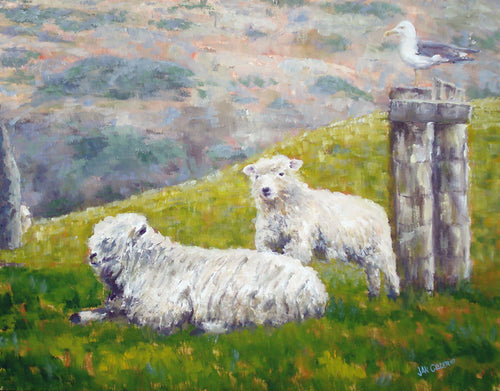 HIGHLAND BRED  |  ORIGINAL JAN CLIZER PAINTING