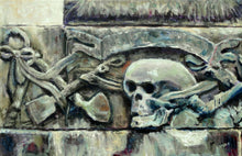MEMENTO MORI  |  ORIGINAL JAN CLIZER PAINTING