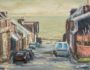 """MORNING IN MACDUFF"" Limited Edition Hand Signed/Numbered Canvas Giclee Print"