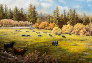 """THE OLD MILL SITE"" Limited Edition Canvas Print, Hand Signed & Numbered   15"" x 22"""