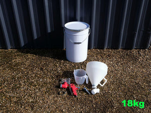 Large Vehicle and Trailer Coating Kit and Spray Gun