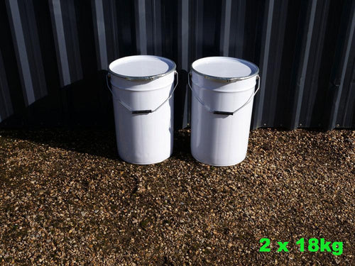 2 x 20ft Container Coating