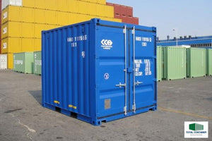 10ft Container Coating with Spray Gun