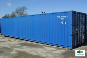 40ft Container Coating with Spray Gun