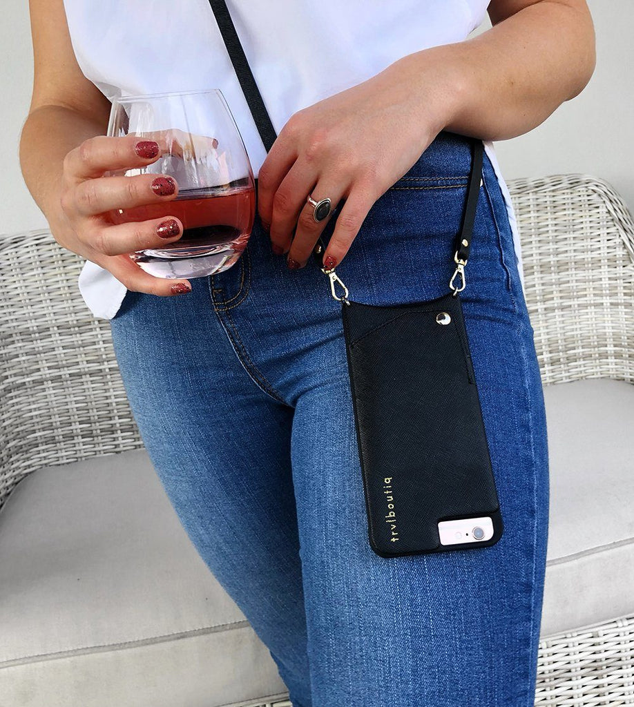Trvlboutiq Crossbody Phone Purse ™ | Crossbody Phone Case | Crossbody iPhone Case Wallet