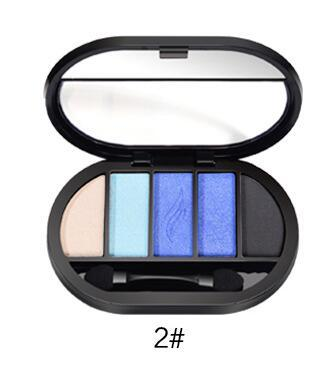 5 Colors Eyeshadow Palette Makeup Glitter Palette