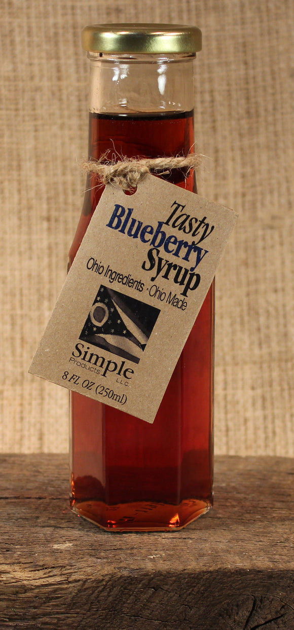 Tasty Blueberry Syrup