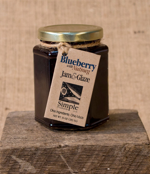 Blueberry Nutmeg Jam & Glaze