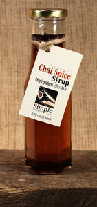 Chai Spice Syrup