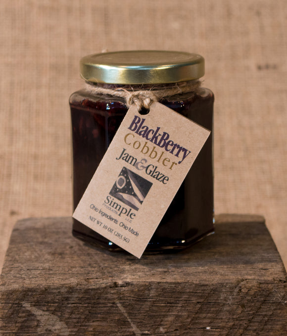 Blackberry Cobbler Jam & Glaze