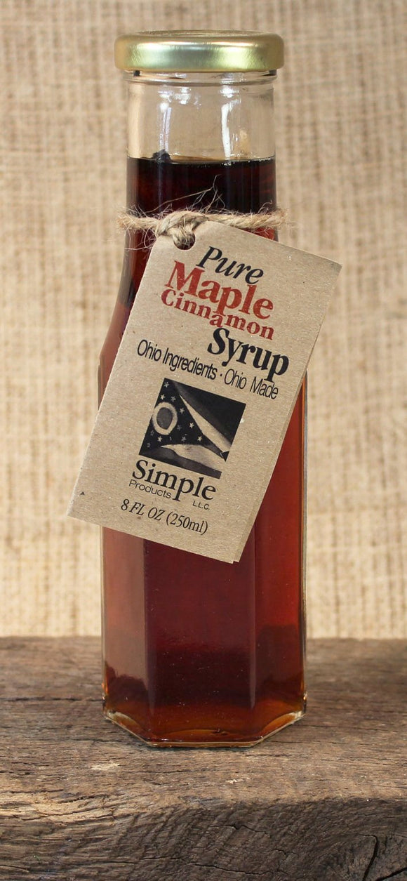 Maple Cinnamon Syrup