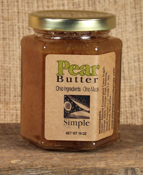 Pear Butter Jam & Glaze