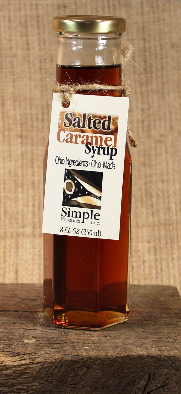 Salted Caramel Syrup