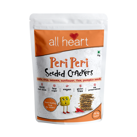 Peri Peri Seeded Crackers 75gms