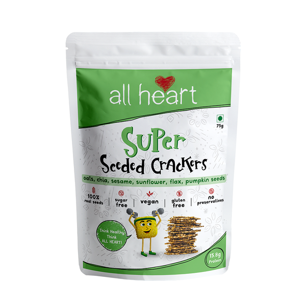 Super Seeded Crackers 75gms