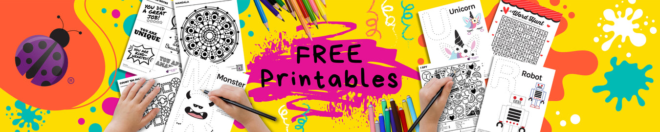 FREE Printable Activity and Coloring e-booklets