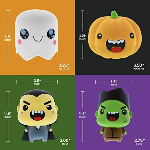 Limited Edition Halloween Themed Squishies