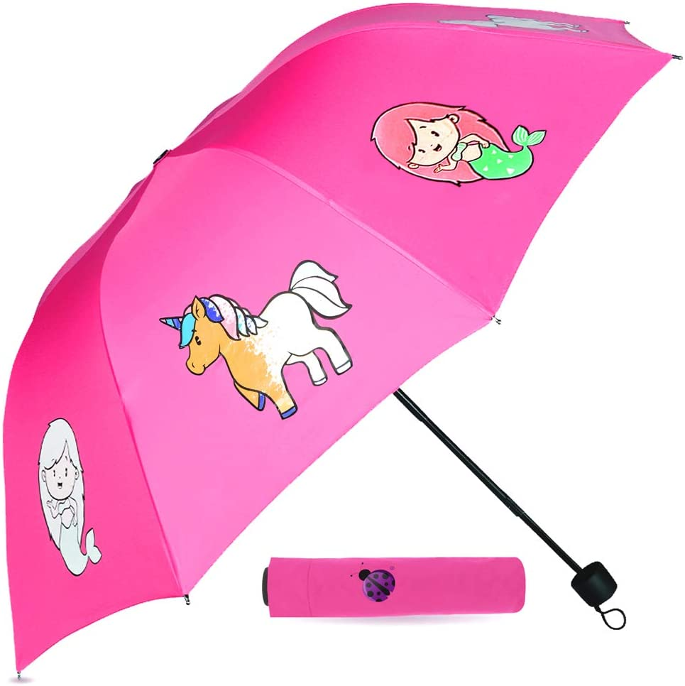 Color Changing Kids Umbrella for Girls