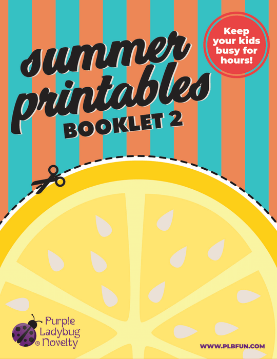 Summer Printables Booklet 2