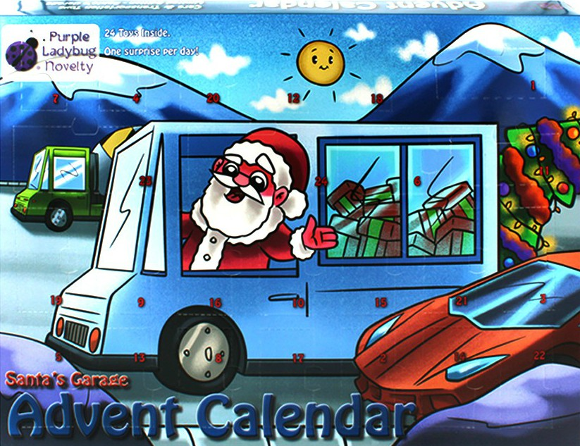2020 Advent Calendar - Cars