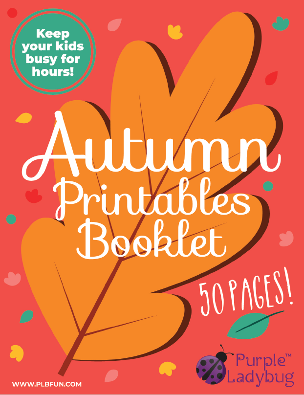 Fall Activity Book - Downloadable