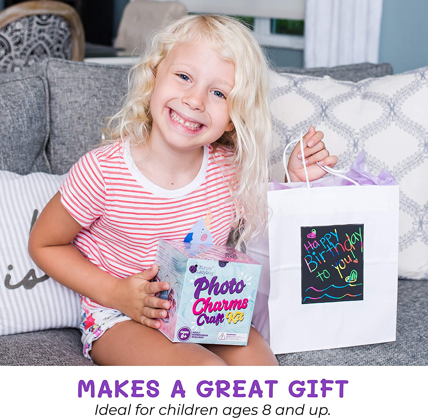resin mold craft kit for giving as a holiday or birthday gift to kids aged eight and up