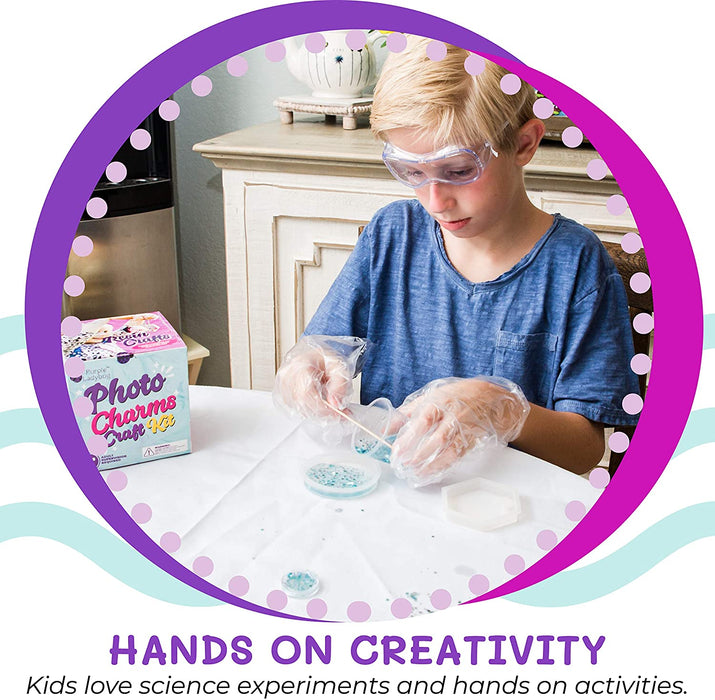 Resin Crafts: Photo Charms Craft Kit
