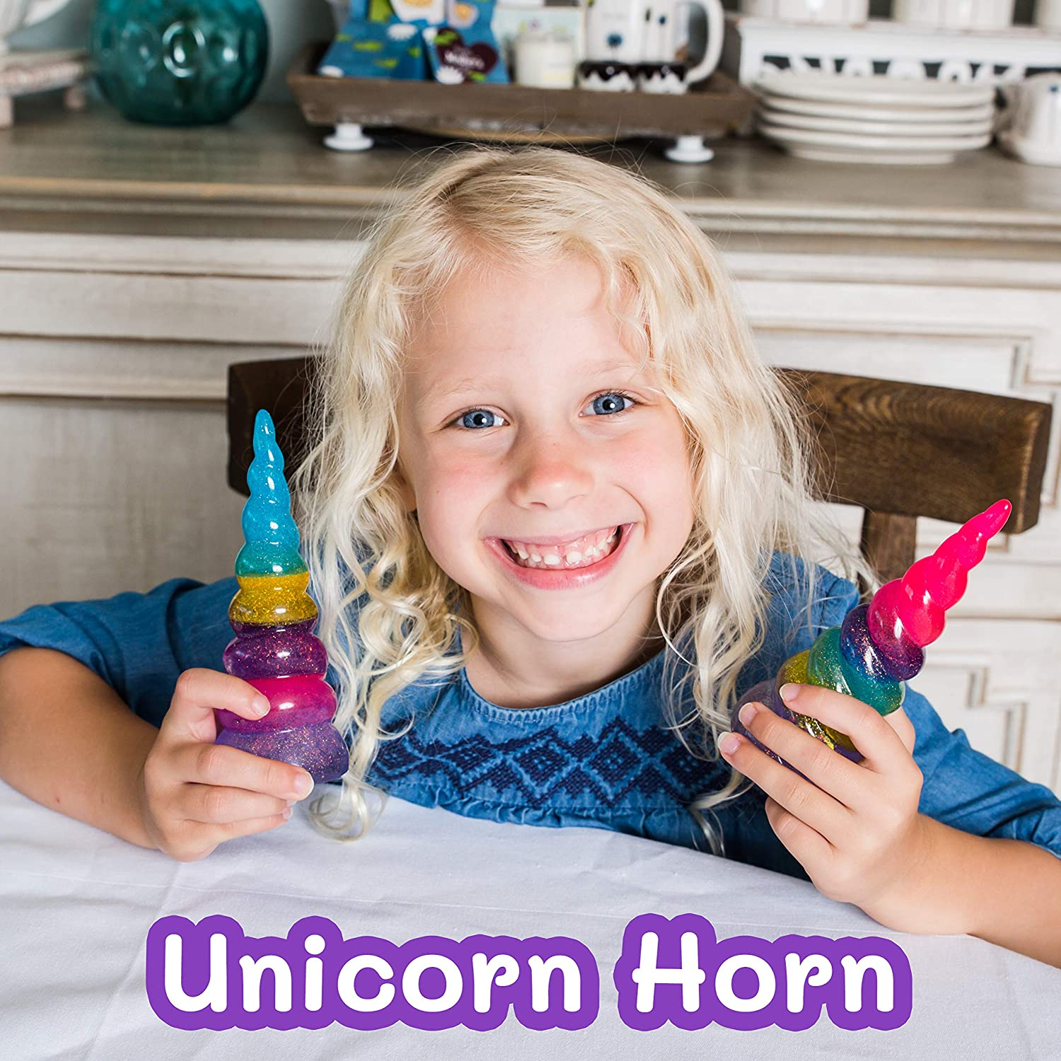 unicorn bezel resin craft kit for holding scrunchies or jewellery without a uv torch