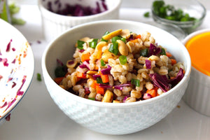 Recipe 2 | Asian Pearl Barley Bowl