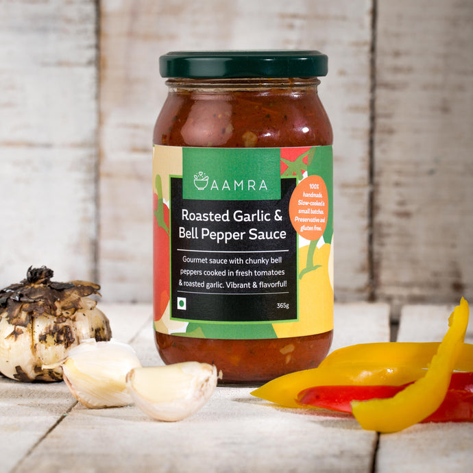 Roasted Garlic & Bell Pepper Sauce