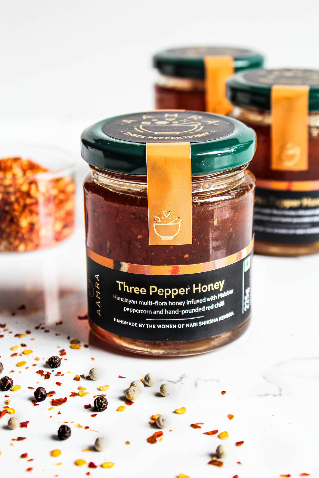 Three Pepper Honey