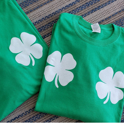 St. Patricks Day Glitter Boobie Shirt