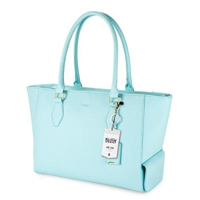 Tiffany Blue Insulated Wine Tote - Island Life Monograms