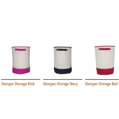 Canvas Storage and Laundry Bins - Island Life Monograms