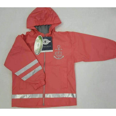 Charles River Rain Jacket - Children - Island Life Monograms