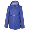 New Englander Rain Jacket with Printed Lining - Charles River - Royal