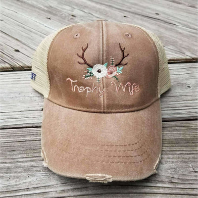 Trophy Wife Hat - Island Life Monograms