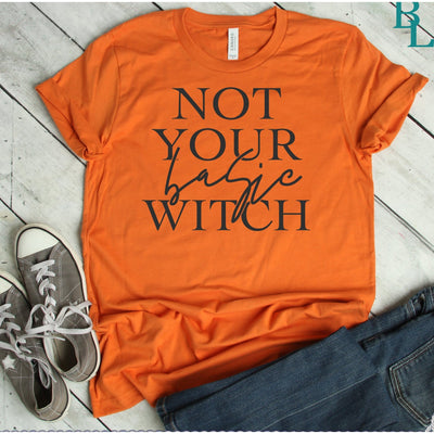 Not Your Basic Witch - Island Life Monograms