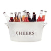 Galvanized Cheers Tub - Island Life Monograms