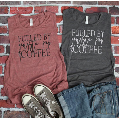 Fueled by Gangsta & Coffee - Island Life Monograms