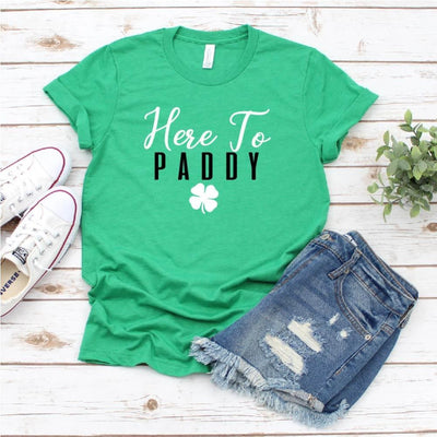 St Patricks Day Here to Paddy T