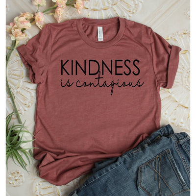 Kindness is Contagious Shirt - Island Life Monograms