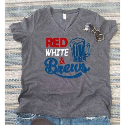 Fourth of July Red White and Brews - Island Life Monograms