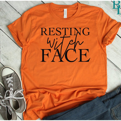 Resting Witch Face - Island Life Monograms